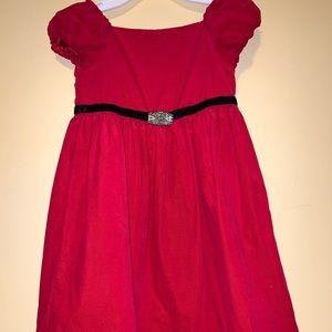 Girls Red dress